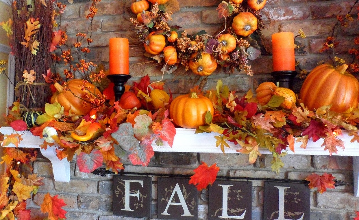 fireplace-mantel-ideas-fall-autumn-decoration