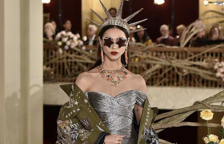 Dolce & Gabbana 2018 Alta Moda Show Looks