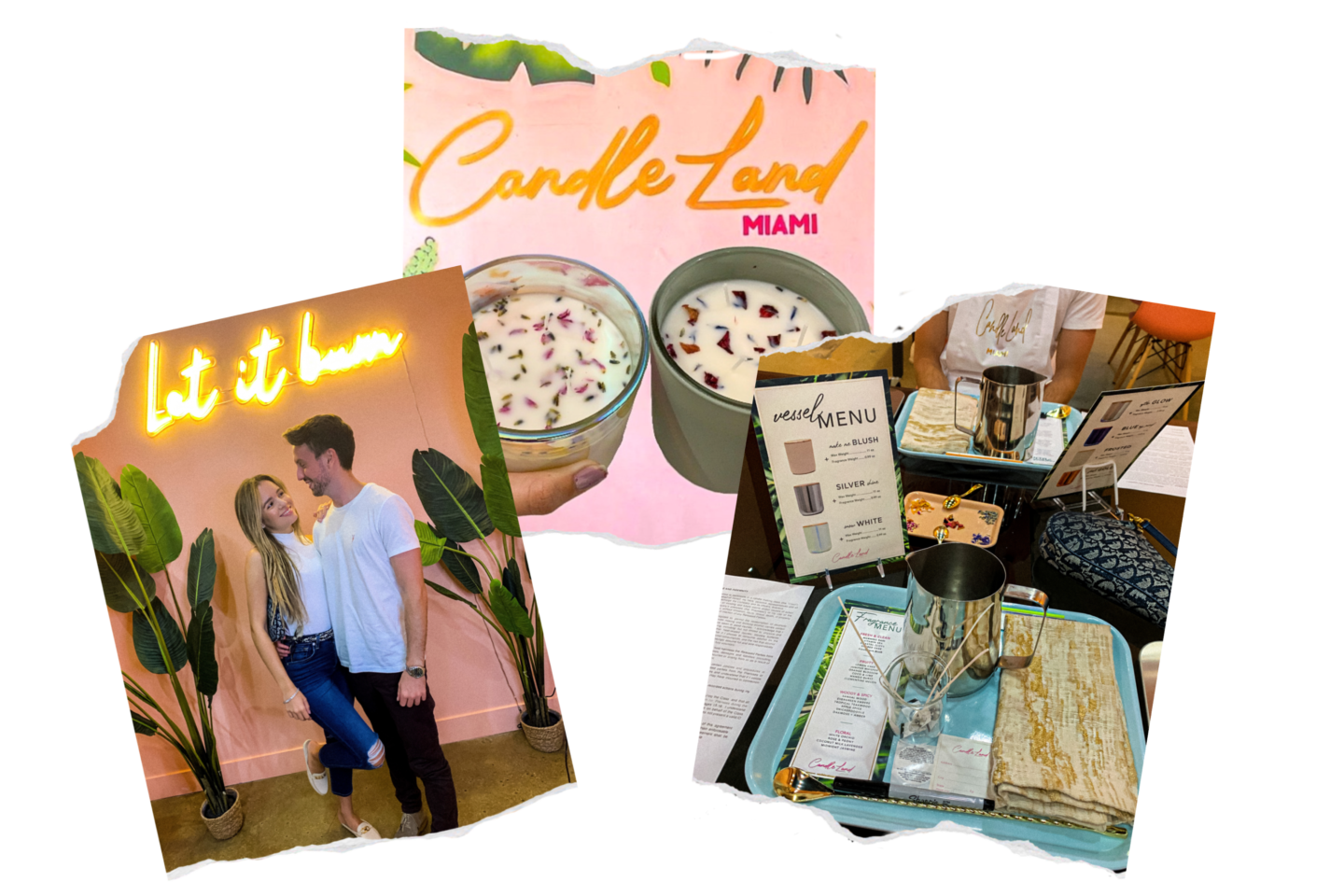 miami date night ideas, candleland miami, candle making class